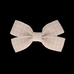 Your Little Miss Haarspange mit Schleife Medium Nude Check