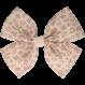 Your Little Miss Haarspeldje met strik large pink animal