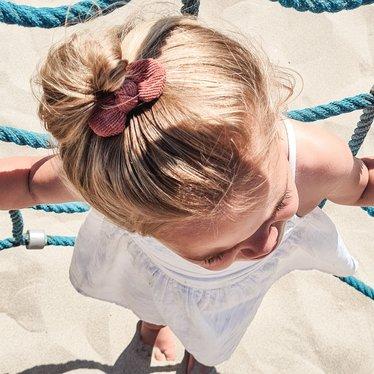 Your Little Miss Haarspange mit Schleife Nude Rippe
