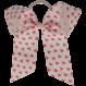 Your Little Miss Haarstrik met elastiek pink hearts