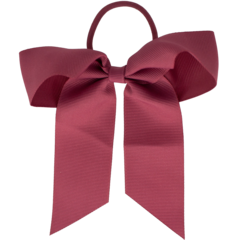 Your Little Miss Hair bow with elastic rose linen