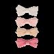 Your Little Miss Setje baby haarspeldjes met strik pink vibes