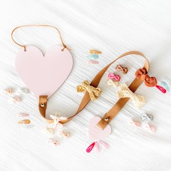 Your Little Miss Hair accessories hanger
