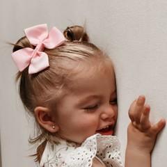 Your Little Miss Haarspange mit Schleife große Bonbons
