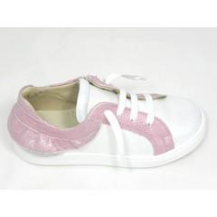 Jeune fille en fleur Jff sneaker wit roze UV
