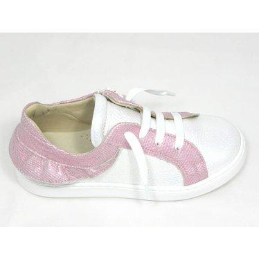 Jeune fille en fleur Jff sneaker wit roze