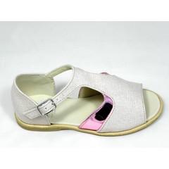 Manuela de Juan Mj sandaal roze blinkend 24.25.26.28