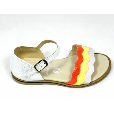 Jeune fille en fleur Jff sandaal glitter/tricolor 24-29