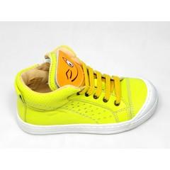 Ocra Ocra sneaker geel met smiley UV
