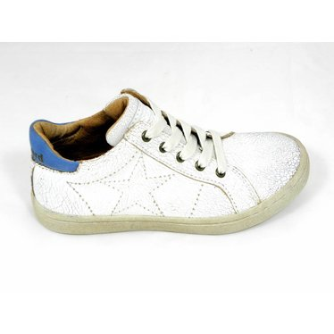 Bisgaard Bisgaard sneaker gebroken wit met ster 30-35
