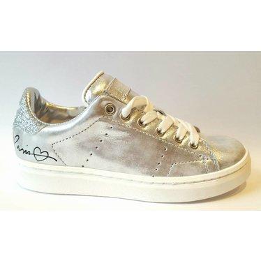 Hip Sneaker zilver 28.29.30.32.33.34.35