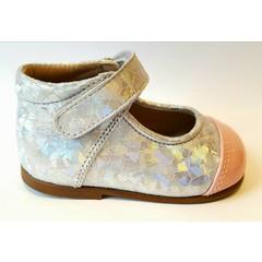 Eli Riem schoentje roze/zilver UV