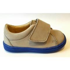 Eli Sneaker velcro grijs/blauw 20.21.22.24.25