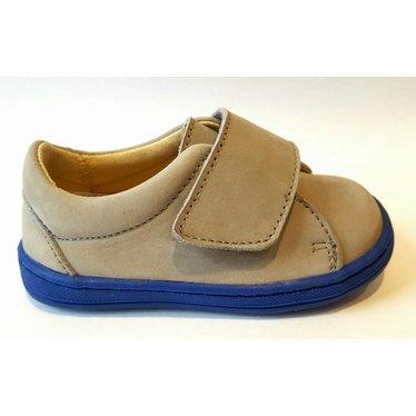 Eli Sneaker velcro grijs/blauw 20.21.22.23.24.25