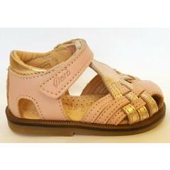 Ocra Sandaal roze/goud UV
