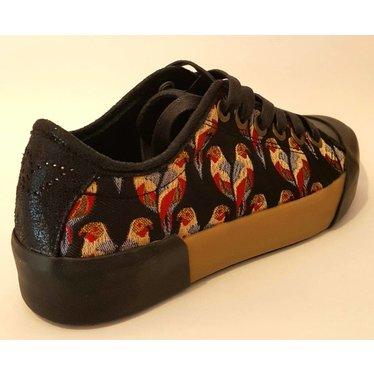 Patriotic Sneaker zwart/ papegaaien 36.37.38.39.40.41