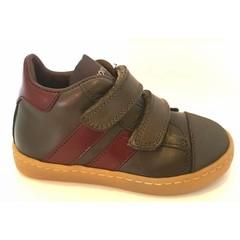 Rondinella Sneaker velcro kaki LAATSTE STUK! 24