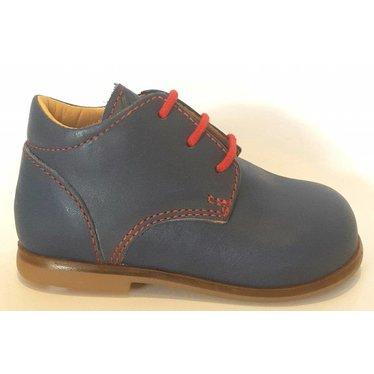 Ocra Veterschoen blauw met rood stiksel 19.20.21.22