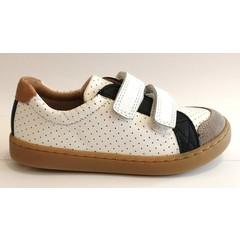 Shoo pom Sneaker velcro blauwe streep 25.26.27.28.29.30.31.32