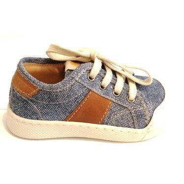 Ocra Veterschoen jeanslook met verstevigde tip 21.22.24