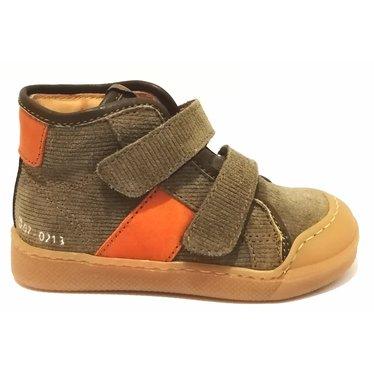 Ocra Sneaker kaki velcro 22.23.24.25.26.27.28