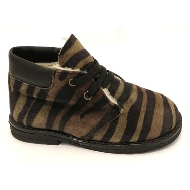 Eli Veterschoen zebra wol gevoerd 22.23.24.25.26.27.28.29.30.37.38