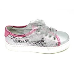 Eli Sneaker, metallic roze met glitters LAATSTE STUK! 36