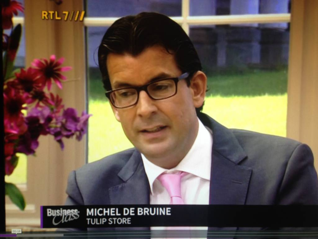 Tulip Store on television at Business Class at RTL7.