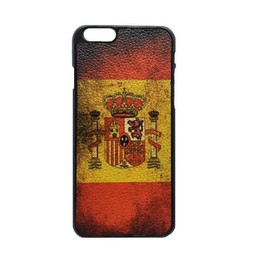 Spaanse vlag / Spanje - retro hoes iPhone 6 Plus (s)