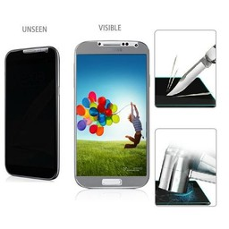 Privacy Tempered Glass / Gehard Glas Screenprotector - Samsung Galaxy S4