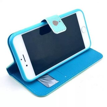 Live the life you love tekst - wallet hoes iPhone 4 / 4s