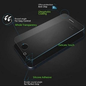 Tempered Glass voor de Samsung Galaxy S7 edge (met gebogen randen)