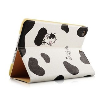 Milk we love it - Koeien patroon - PU lederen hoes voor de iPad 2 / 3 / 4