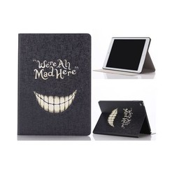 We're all mad here - PU lederen hoes iPad air 2