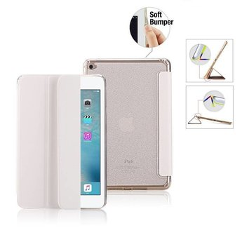 Premium Apple iPad Pro 2 - 9.7 inch - Smart Cover Hoes Case - met Flexibele Achterkant – Wit / White