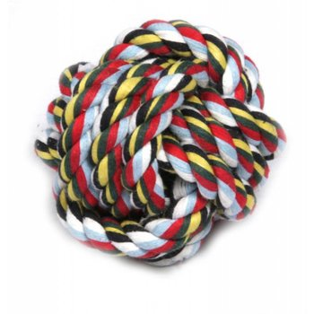 Kauwkatoen bal model gemixte kleur