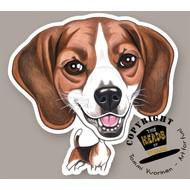 Heads Beagle