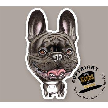 Heads Franse Bulldog