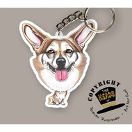 Heads Welsh Corgi (Pembroke)
