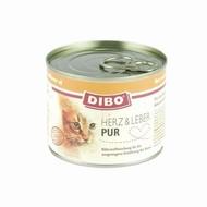 Dibo Kat Pur Hart / Lever 200gr - 6 stuks