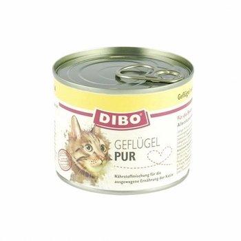 Dibo Kat Pur Gevogelte 200gr - 6 stuks