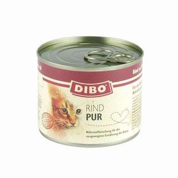 Dibo Kat Pur Rund 200gr - 6 stuks