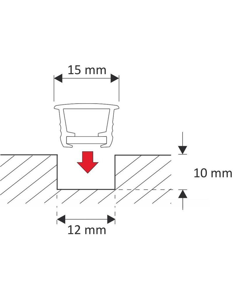 LEDFactory Einsteckprofil PMMA zum Einbau