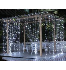 3M x 3M LED Lichtervorhang, 8 Modi, 306 LEDs, Lichterkette