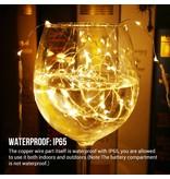 LEDFactory 6M LED Kupferdraht Lichterkette, 60 LEDs, Kupfer, Wasserdicht, 3er Pack