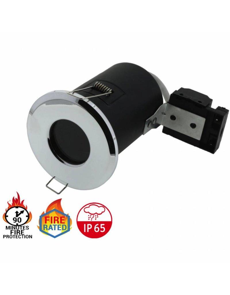 LEDFactory Einbaurahmen für GU10 Fixiert IP65 Wasserdicht (versch. Farben!)