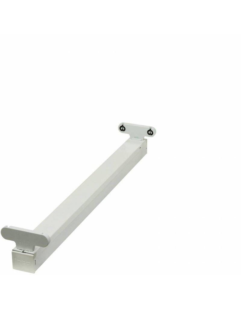 LEDFactory LED T8 Balken 60 cm 2 Röhren IP20