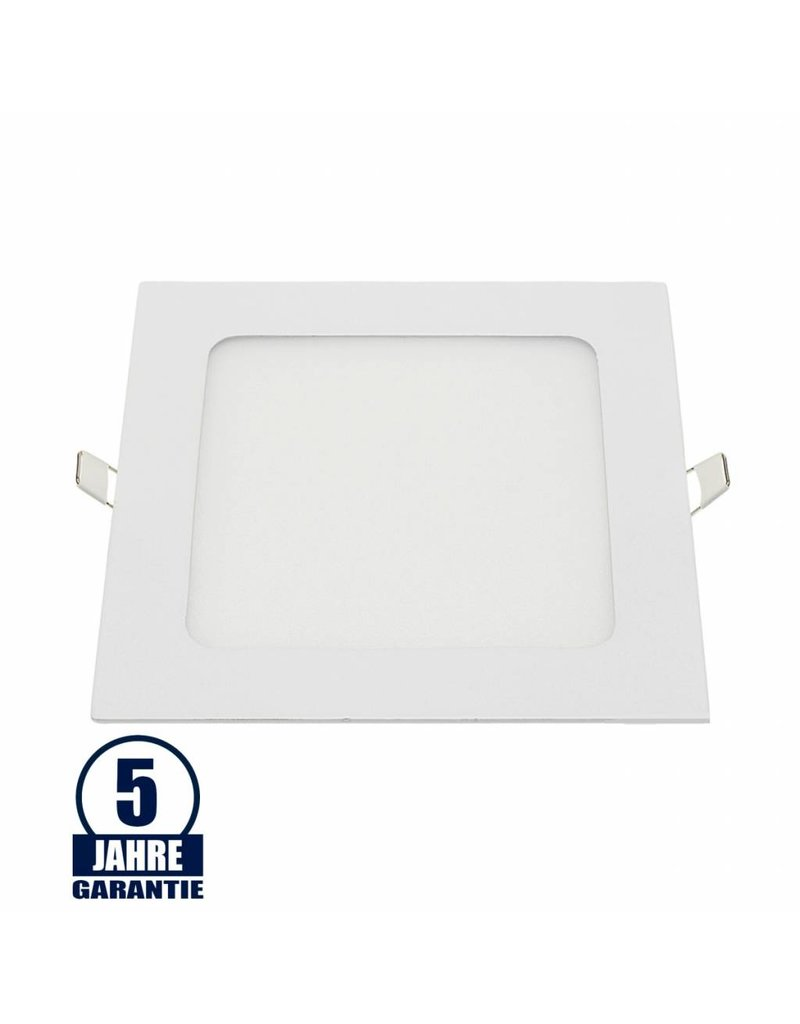 18W LED Mini Panel Quadratisch Professional