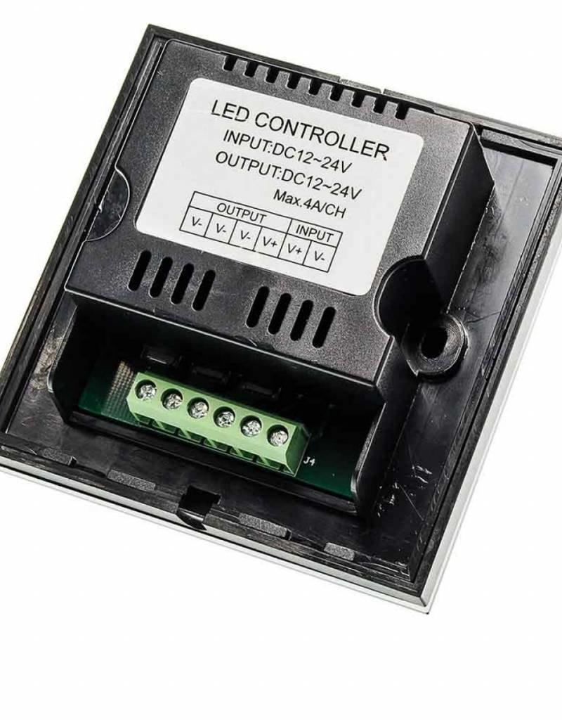 Glas Design LED Controller - Einbau Touchpaneel 96W 12V Schwarz