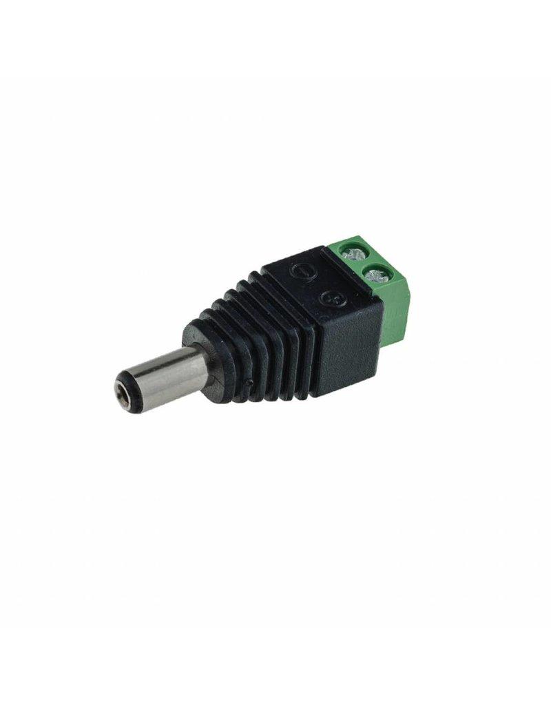 LEDFactory Adapter Netzteil Connector für Led Streifen Männlich